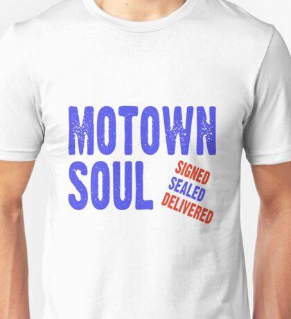 Motown Soul Signed Sealed Delivered Unisex T-Shirt