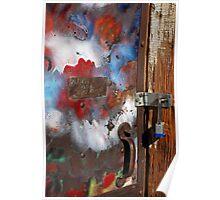 Colorful Door Poster