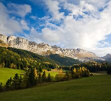 Autumn Overview by Sylvain Girard