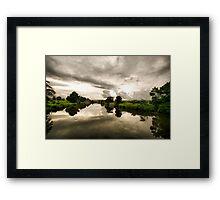 Rous River Framed Print