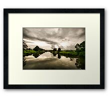Rous River Framed Print