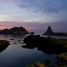 Isola Lachea in the early morning by Andrea Rapisarda