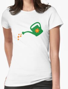 Watering Can Watering Flowers T-Shirt