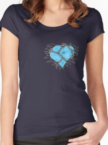 broken heart Women's Fitted Scoop T-Shirt
