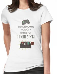Try out a fight stick! Womens Fitted T-Shirt
