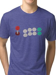 Arcade game control stick T shirt! Tri-blend T-Shirt