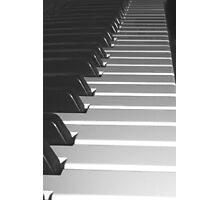 Music Keyboard Photographic Print