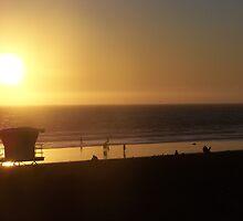"Sunset Pier by Lenora ""Slinky"" Regan"