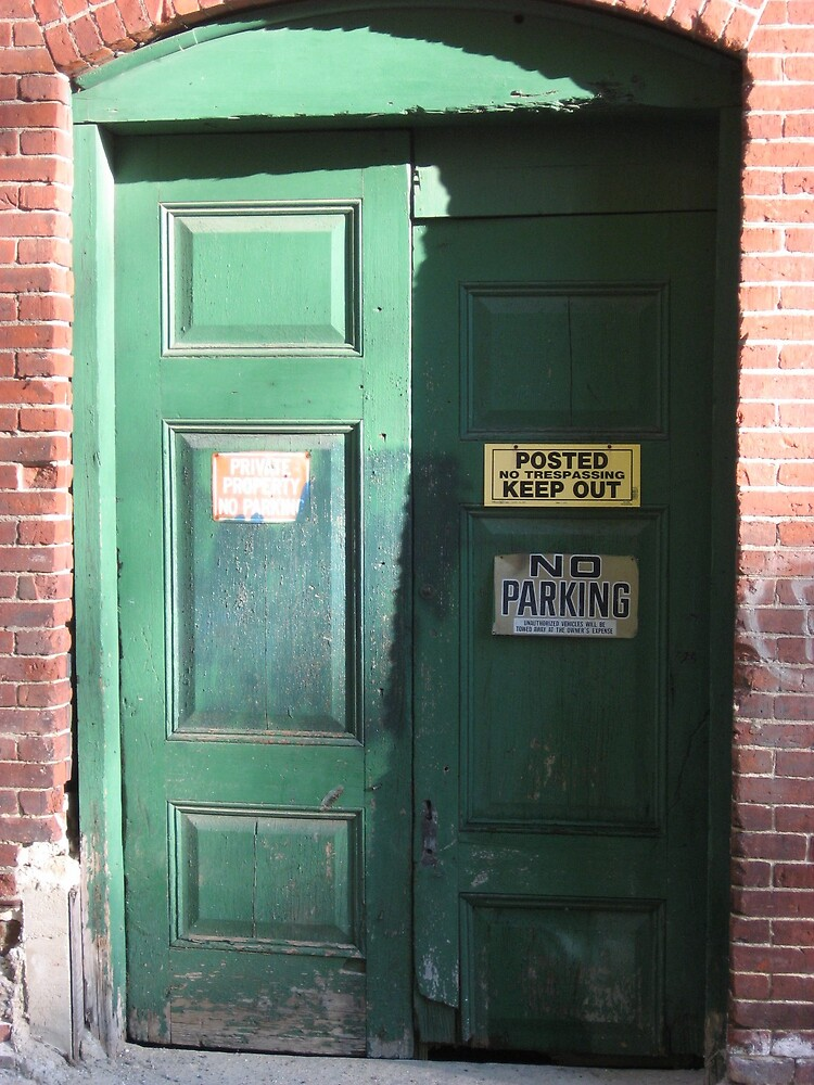 Door at Market Mills by Stormoak Lonewind