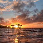 Sunrise in Paradise by yolanda