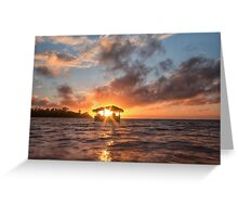 Sunrise in Paradise Greeting Card