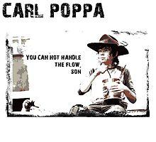 The Walking Dead Carl Poppa by kramprusz