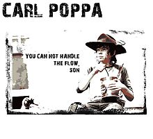 The Walking Dead Carl Poppa by kramprusz