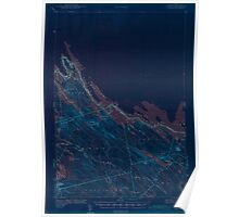 Maine USGS Historical Map Forest 306564 1942 62500 Inversion Poster