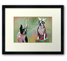 Tis the Season.... Framed Print