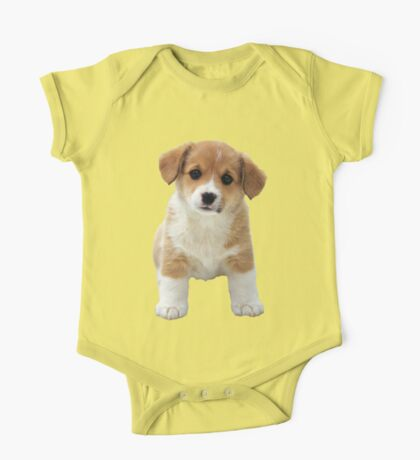 A Little Puppy One Piece - Short Sleeve
