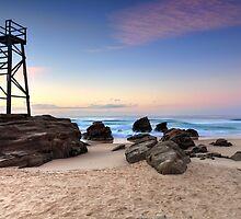Sunrise Redhead Beach by Leah-Anne Thompson