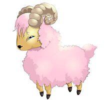 Cute sheep - Year of the Sheep 2015 Photographic Print
