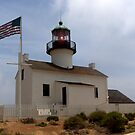 Old Point Loma Lighthouse by Nikki Collier