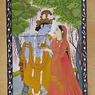 Radha Kirshna by HMiniatures