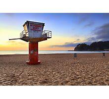 Sunrise Avoca Beach Australia Photographic Print