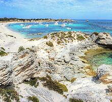 Longreach Bay Rottnest Island Perth WA by Colin  Williams Photography