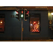 Red Ribbon Regent Photographic Print