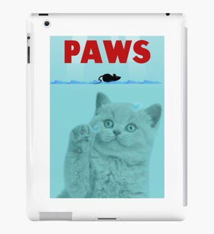 PAWS Parody Cat Attack iPad Case/Skin