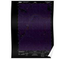 Maine USGS Historical Map Forks of Machias 20110907 TM Inversion Poster