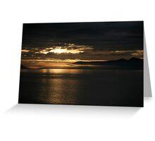 low cloud Greeting Card