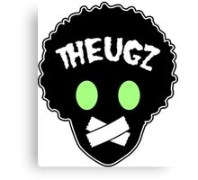 THEUGZ GREEN EYEZ LOGO Canvas Print