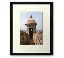 San Juan Fort Framed Print