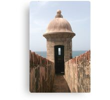 San Juan Fort Canvas Print