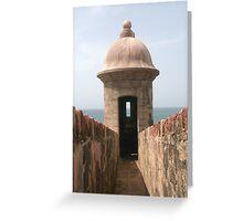 San Juan Fort Greeting Card