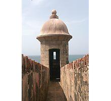 San Juan Fort Photographic Print