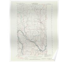 Maine USGS Historical Map Fort Fairfield 306567 1951 62500 Poster