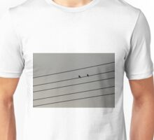 The birds on wire Unisex T-Shirt