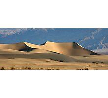 Death Valley sand dunes Photographic Print