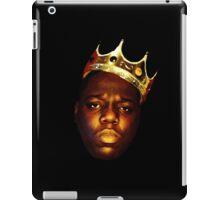 Biggie Smalls Oil Painting w/Crown iPad Case/Skin