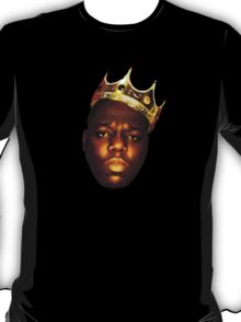 Biggie Smalls Oil Painting w/Crown T-Shirt