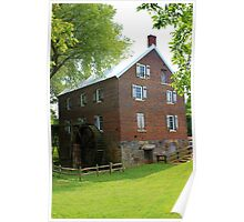 Kerr Grist Mill Poster