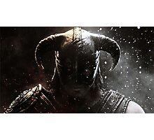 The Elder Scrolls V - Skyrim warrior Photographic Print