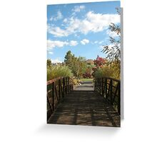 Entrance to Serenity Greeting Card