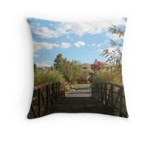 Entrance to Serenity Throw Pillow