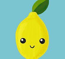 Cute Enough To Eat: Activist Lemon by Kiki B