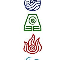 Avatar Four Elements by Daljo