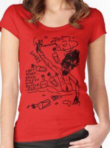 Bottle Flu Women's Fitted Scoop T-Shirt