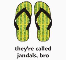 Jandals Bro Kids Clothes