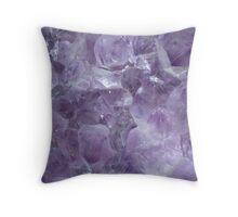 Crystal Cave Throw Pillow
