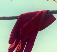 red glove Sticker